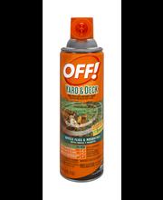Off! Backyard Pretreat Outdoor Fogger Insecticide 16 oz. Aero...