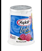 Yoplait® Light Fat Free Yogurt Red Raspberry 6.0 oz Cup