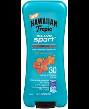 Hawaiian Tropic® Island Sport® SPF 30 Sunscreen 8 fl. oz. Squ...