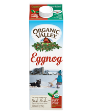 Organic Valley® Ultra-Pasteurized Organic Eggnog 32 fl. oz. C...
