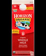 Horizon Organic® Vitamin D Whole Organic Milk .5 gal. Carton