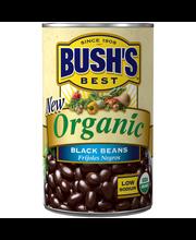 Bush's Best® Organic Black Beans 15 oz. Can
