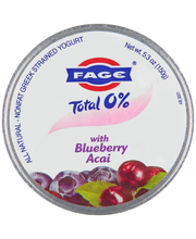 Fage® Total 0% with Blueberry Acai Greek Strained Nonfat Yogu...