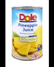 Dole® 100% Pineapple Juice 46 fl. oz. Can