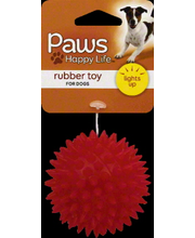 PAWS HAPPY LIFE DOG TOY RUBBER
