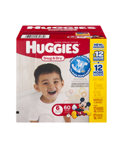 Huggies® Snug & Dry* Size 6 Diapers 60 ct Box