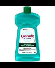 Cascade® Platinum™ Rinse Aid 8.45 fl. oz. Plastic Bottle