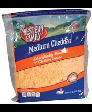 Wf Shred Medium Cheddar Cheese