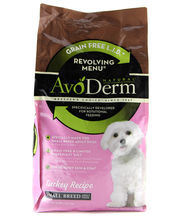 Avo Derm Turkey Recipe Dog Food 6x4 lb