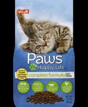 PAWS HAPPY LIFE DRY CMPLT FORM