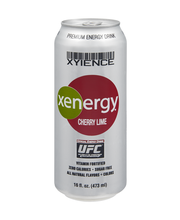 Xyience Xenergy Cherry Lime Energy Drink