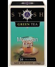 Stash Moroccan Mint Green Tea Bags 20 Ct Box