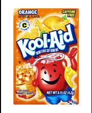 Kool-Aid Orange Unsweetened Drink Mix 0.15 oz. Packet