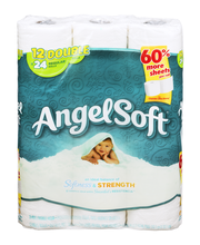 Angel Soft Bathroom Tissue Softness & Strength - 12 CT