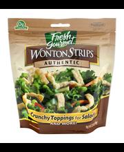 Fresh Gourmet Authentic Wonton Strips 3.5 Oz Peg