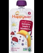 Happy Baby® Simple Combos Bananas, Beets & Blueberries Organi...
