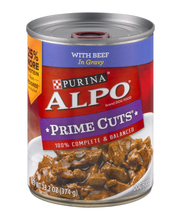 Purina ALPO Prime Cuts With Beef in Gravy Dog Food 13.2 oz. Can
