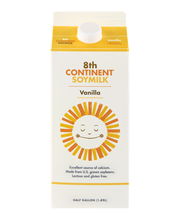 8th Continent® Vanilla Soymilk 0.5 gal. Carton