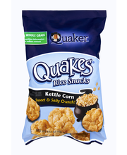 Quaker® Popped® Kettle Corn Rice Crisps 3.52 oz. Bag