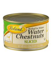 Roland Water Chestnuts Sliced