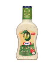 Kraft Creamy Italian Dressing 14 fl. oz. Bottle