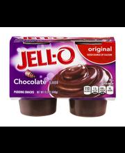 Jell-O® Chocolate Pudding Snacks 4 ct Cups