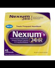 Nexium® 24-Hour Delayed Release Heartburn Relief Capsules 42 ...