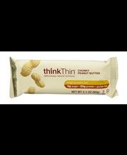 thinkThin High Protein Bar Chunky Peanut Butter