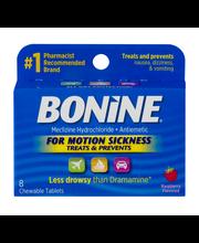 Bonine Meclizine Hydrochloride - Antiemtic Chewable Tablets R...