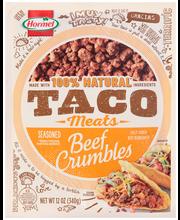 Hormel® Taco Meats Beef Crumbles 12 oz. Pack