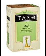 Tazo® Green Tea Zen™ 20 ct. Box