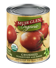Muir Glen™ Organic Crushed Tomatoes with Basil 28 oz. Can
