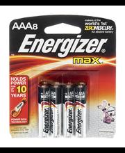 Energizer Max AAA Alkaline Batteries - 8 CT