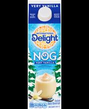 International Delight® Very Vanilla Nog 1 qt. Carton
