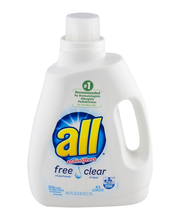 all® free clear Laundry Detergent 63 Loads 94.5 fl. oz. Bottle
