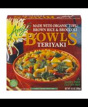 Amy's Bowls Teriyaki