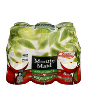 Minute Maid® Juices to Go Apple 100% Juice 6-10 fl. oz. Plast...
