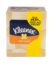KLEENEX Anti-Viral Upright Facial Tissue 68