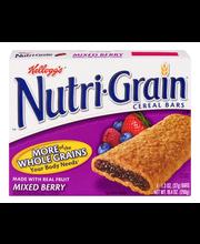 Kellogg's® Nutri Grain® Mixed Berry Breakfast Bars 8-1.3 oz. ...