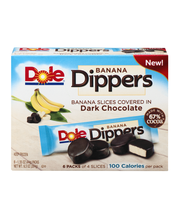 Dole® Dippers™ Dark Chocolate Covered Real Banana Slices 6-1....