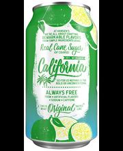 Hansen's® Natural Cane Key Lime Twist Soda 6-12 fl. oz. Cans