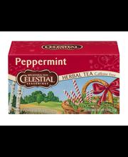 Celestial Seasonings Herbal Tea Caffeine Free Peppermint - 20 CT