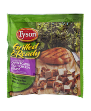 Tyson® Grilled & Ready® Fully Cooked Oven Roasted Diced Chick...
