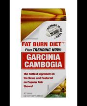 Fat Burn Diet Garcinia Cambogia Dietary Supplement - 40 CT