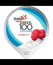 Yoplait® Greek 100 Calories Raspberry Fat Free Yogurt 5.3 oz....