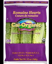 Cal-Organic® Farms Romaine Hearts 12 oz. Pack