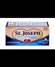St. Joseph Enteric Safety Coated Aspirin Tablets - 120 CT