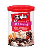 Fisher® Nut Topping Ice Cream Toppers® 5 oz. Can
