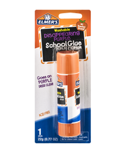Elmer's Washable School Glue Stick Disappearing Purple
