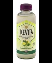 KeVita Sparkling Probiotic Drink Mojita Lime Mint Coconut